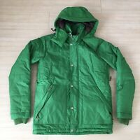 Holden Green Jacket Snowboarding Mens Size L Hooded Full Zip Coat