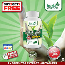 GREEN TEA PURE EXTRACT WEIGHT LOSS DIET SLIMMING AID DETOX BURN FAT TABLETS