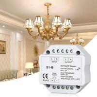 2X(AC 110V-220V S1-B LED Triac HF Dimmer Verwenden Sie Einen Drahtlosen 2,4E4F2)