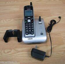 Vtech (CS5111) Black & Grey 5.8GHz Cordless Telephone w/ Power Supply **READ**
