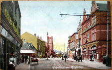 1910 Postcard: Kingston Cross - Kingston upon Thames, London, England, Uk
