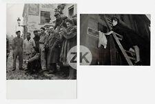 MICHELINE PRESLE Radiguet GERARD PHILIPE Affiches Pub Rue Tournage 2 Photos 1946