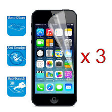 iPhone SE 5 5S Screen Protector Cover Guard Film Foil x 3