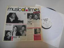 LP VA EMI Musical Times 8/80 (9 Song) Promo EMI ELECTROLA  Iron Maiden D.Ross