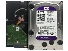 """WD Purple 4TB WD40PURX 5400RPM 64MB SATA 6Gb/s 3.5"""" Surveillance Hard Drive CCTV"""