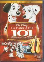 LA CARICA DEI 101 DVD Film ITALIANO PAL Ologramma Rettangolare - n. 2 dischi