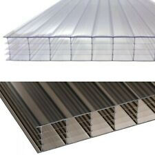 PACK OF 2 SHEETS POLYCARBONATE 4WALL  14mm (1/2) THICKNESS