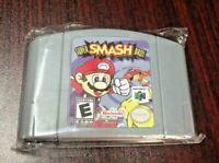 Super Smash Bros Video Game Cartridge Console Card For Nintendo N64 US Version