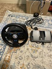 Logitech Nascar Racing Wheel Ps2 *CLEANED AND TESTED*