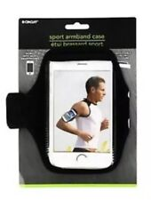 SMARTPHONE CELL SPORT ADJUSTABLE ARMBAND CASE BLACK NEW