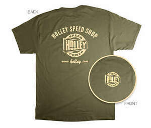 Holley 10025-LGHOL Holley Speed Shop T-Shirt