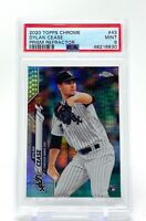 Dylan Cease 2020 Topps Chrome Prism Refractor Rookie #43 RC PSA 9 Mint White Sox