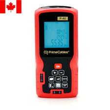 PrimeCables® Digital Handheld Laser Distance Measurer, 40 Meter (131Feet)