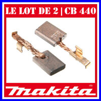 // Lot 2 balais Charbons \  MAKITA // CB440  Perçeuse Visseuse 3 x 10 x 13.5 mm
