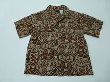Vintage Gymboree Boys Size Large (5) Button Front Shirt Great Condition