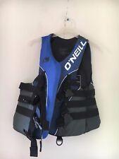 O'NEIL Size L Blue USCG Approved Flotation Aid Water Ski Board PWC Vest