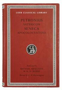 Petronius: Satyricon / Seneca: Apocolocyntosis LOEB CLASSICAL LIBRARY