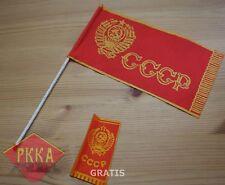 Band Autofahne Tischfahne Fahne Fähnchen Flagge Flag UdSSR Lenin DDR Parade флаг