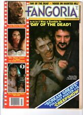 WoW! Fangoria #43 Day Of The Dead! Cat's Eye! House on Haunted Hill! Tingler!