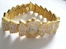 Fancy Glitzy Eastman Quartz Watch Bracelet