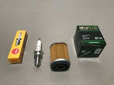 Yamaha Moto 4 Tune Up Kit Oil Filter & Spark Plug YFM200 Tri Moto 225 YTM225