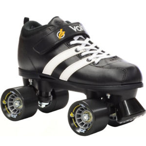 Riedell Volt Skate Black Precision Bearings Roller Derby NEW Free Post