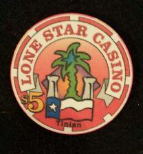 Lone Star Casino, Tinian, Northern Manianas Island $5 chip -Never Used
