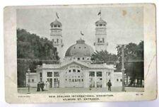 NEW ZEALAND INTERNATIONAL EXHIBITION ,CHRISTCHURCH 1906,KILMORE ST POSTCARD