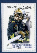 TIMBRE FRANCE AUTOADHESIF 2011 N° 0601 NEUF ** Pompiers de Paris- lance incendie