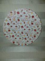 """Spode Copeland Rosebud Chintz Dinner Plate 10.5""""-Older stamp"""