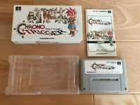 VG Chrono Trigger CIB Boxed SFC Super Famicom Japan NTSC-J SNES tested works
