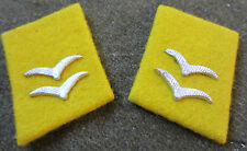 WWII GERMAN LUFTWAFFE FLASCHIRMJAGER PARATROOPER Gefreiter TUNIC COLLAR TABS