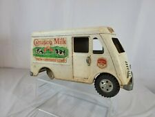 New ListingVintage Tonka Toy Carnation Milk Delivery Metro Van Truck Pressed Steel Usa