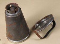 uralte Metall Form , Blech Zinn o.ä. - Eisbüchse - wohl vor 1930 - 259 Gr. /S29
