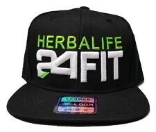 3D PUFF HERBALIFE 24FIT HAT CAP SNAPBACK FLAT BILL LEADER