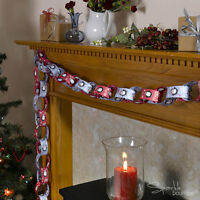 Christmas Paper Chains x50 - Xmas Banner / Garland / Hanging / Tree Decorations