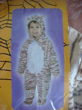 NWT SUPER SOFT 1 PC TODDLER TIGER COSTUME-SMALL (2-3)