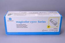 GENUINE Konica Minolta QMS MagiColor 2300 2300W 2350 Toner Yellow 1710517-002