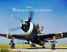 RAF WW2 P-47 Fighter 8x10 Color Photo 30th Squadron Burma WWII