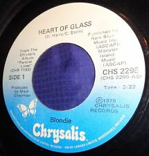 MB772 Blondie Heart Of Glass / 11:59 45 RPM Record