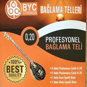 Saz Baglama Teli 0.20lik Profi Qualität