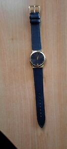 RAYMOND WEIL 5515 GOLD PLATED WATCH BRAND NEW LEATHER STRAP WITH WARRANTY