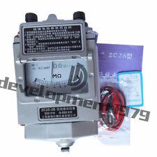 Needle Megger 500V/500Mω Insulation Tester Resistance Meter ZC25-3B New