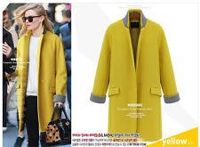Women's Plus Size Full Length Single Breasted Coats & Jackets
