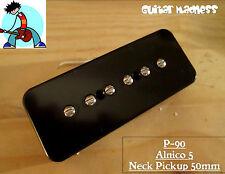 G.M. P-90 Soapbar Pickup Neck Black Alnico 5 for Gibson Epiphone®