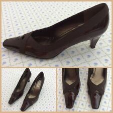 Russell & Bromley Court Patent Leather Slim Heels for Women