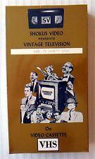 Shokus Video 494 TV Variety XXXIII ~ New VHS ~ Arthur Murray Perry Como Colgate