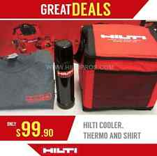 HILTI COOLER, HILTI THERMO BOTTLE, HILTI T-SHIRT, FAST SHIPPING!