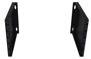 "6U 300mm Deep 19"" Rack Wall Mounted Bracket (cheap cabinet alternative!)"