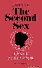 The Second Sex 9781784870386 Simone de Beauvoir Paperback New Book Free UK Deliv